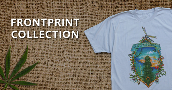 Explore our Frontprint Short Sleeve Marijuana T-shirts
