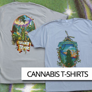 Browse retro marijuana t-shirts, hats and clothing.