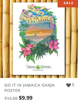 Do it in Jamaica Poster from Ganja Outpost