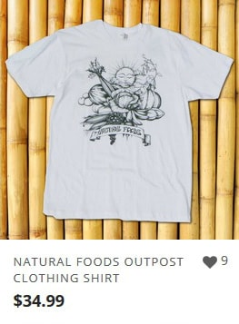 Natural Foods Clothing from Outpost Clothing