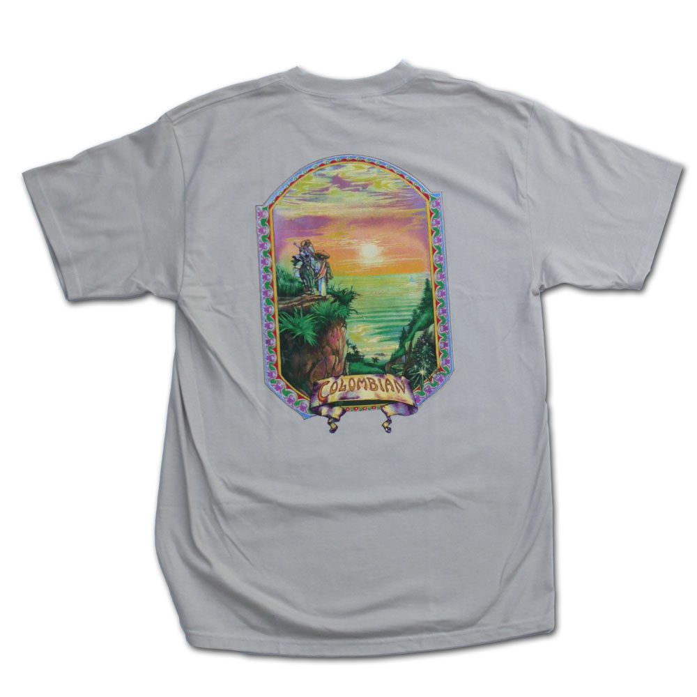 Colombian Gold Marijuana Shirt