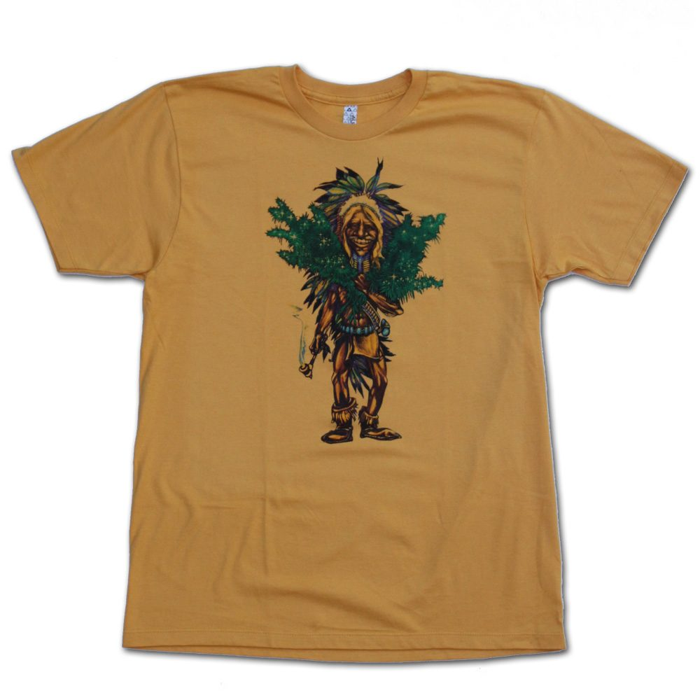 The Grower Gold Marijuana Tshirt