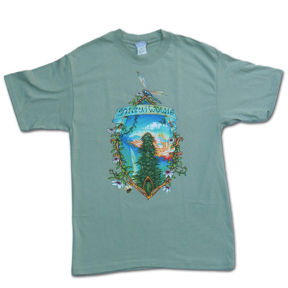 Maui Wowie Green Marijuana Tshirt