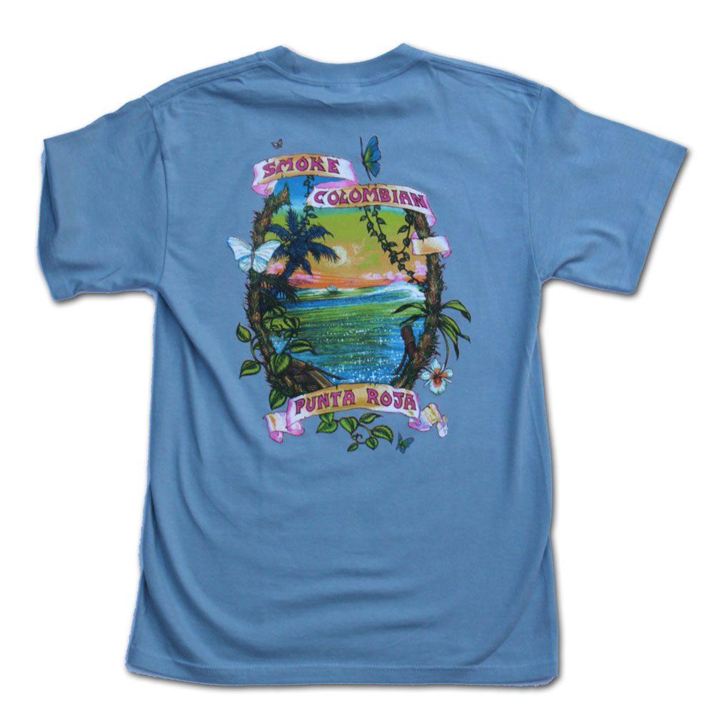 Smoke Colombian Punta Roja Tshirt