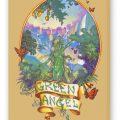Green Angel Fine Art Reproduction, Rust on Stretched Canvas