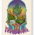 Purchase the Marijuana Fine Art Reproduction, Cream on Stretched Canvas