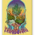 Marijuana Fine Art Reproduction, Gold on Stretched Canvas. Own a piece of pot history
