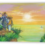 Sunset Bandidos Fine Art Reproduction with Mirrored FInish