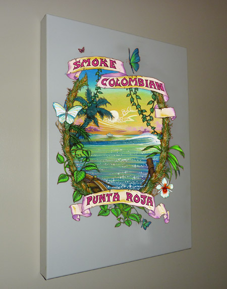 Put a piece of cannabis history on your wall with a Ganja Outpost Fine Art Reproduction