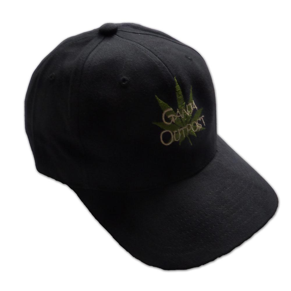 Ganja Outpost Black Blaze Free Ganja Hat