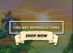 Shop fine art reproductions of vintage marijuana artwork at Ganja Outpost