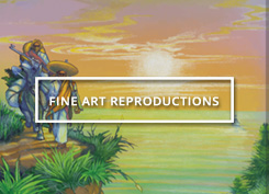 Fine, Gallery Quality Marijuana Art Reproductions available exclusively from Ganja Outpost