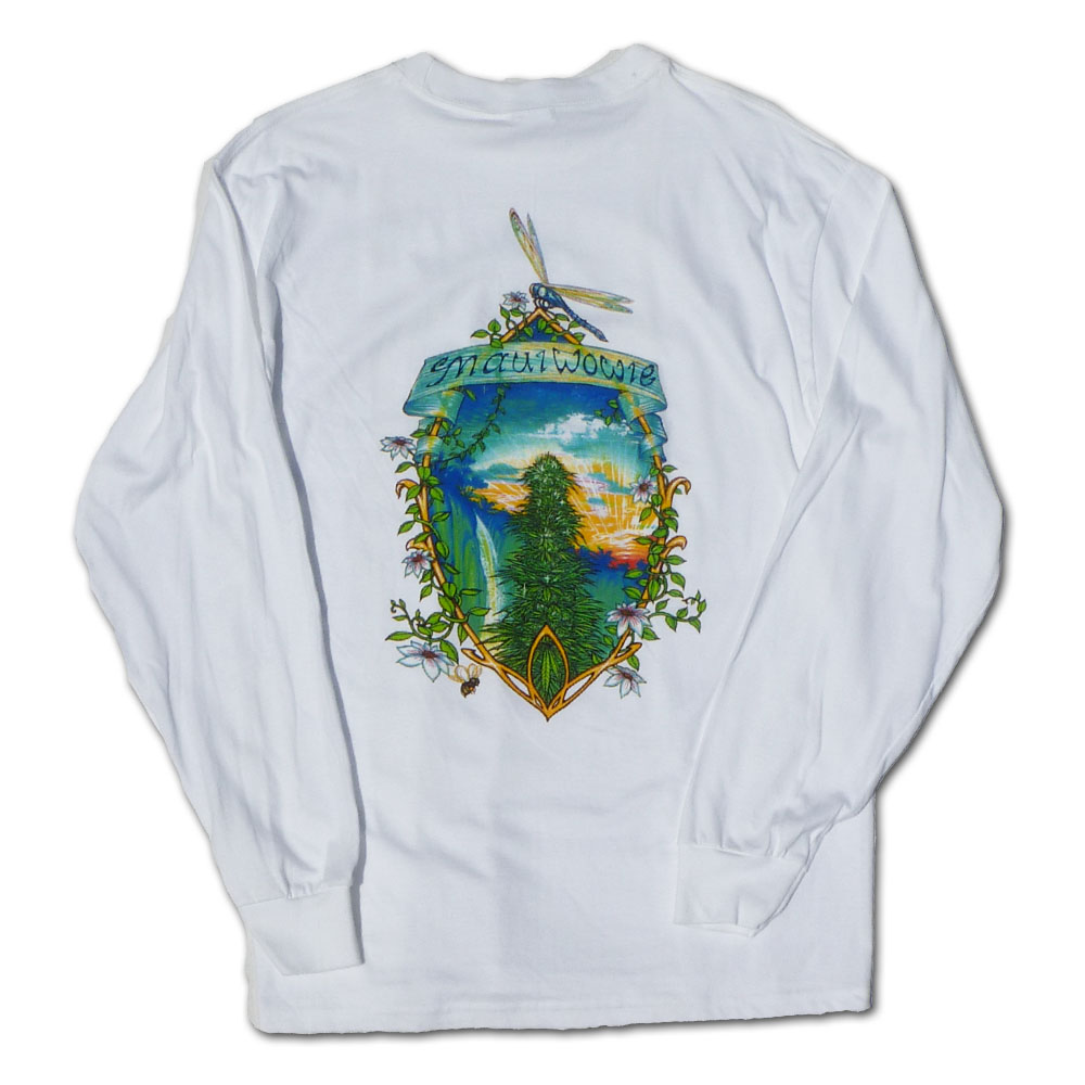 Maui Wowie Long Sleeve Marijuana Shirt