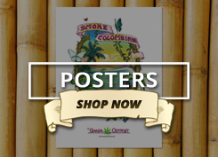 Shop Vintage Cannabis Posters at Ganja Outpost