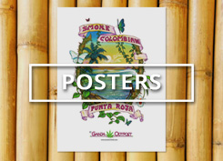 Explore vintage weed posters exclusively from Ganja Outpost