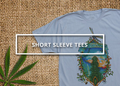 Shop Short Sleeve Pot Shirts only at Ganja Outpost