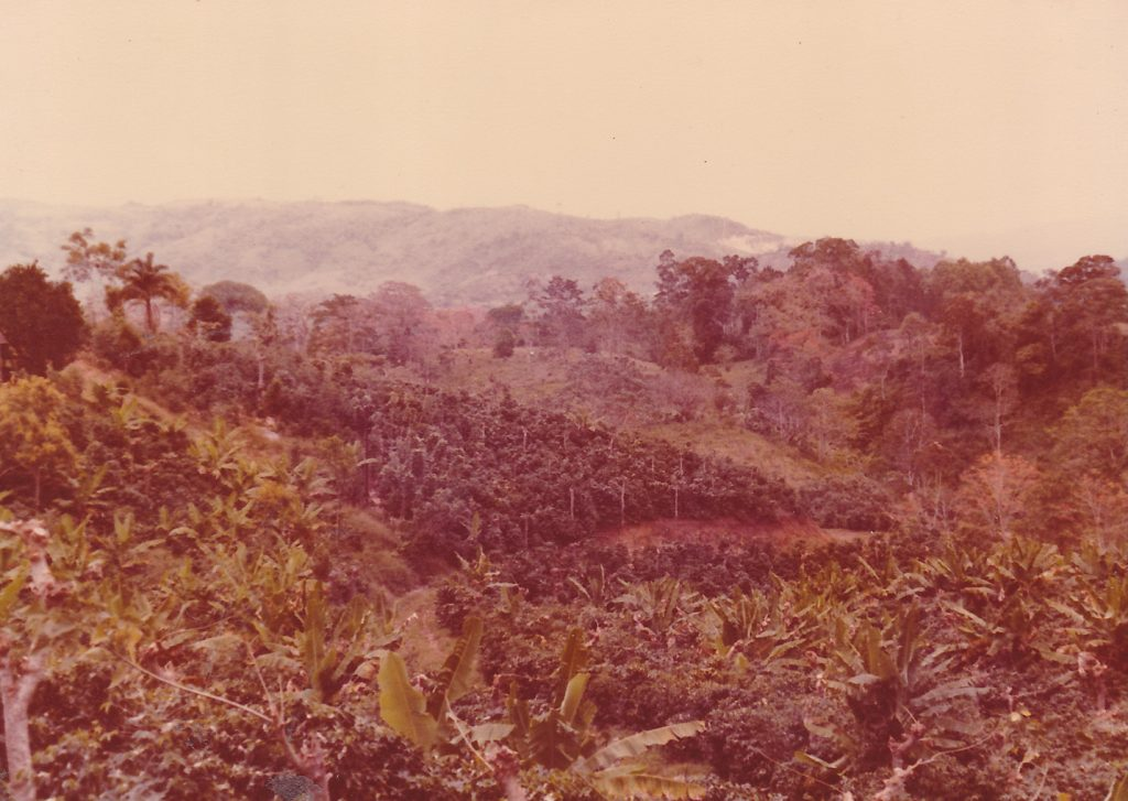The Hills of Colombia circa 1972