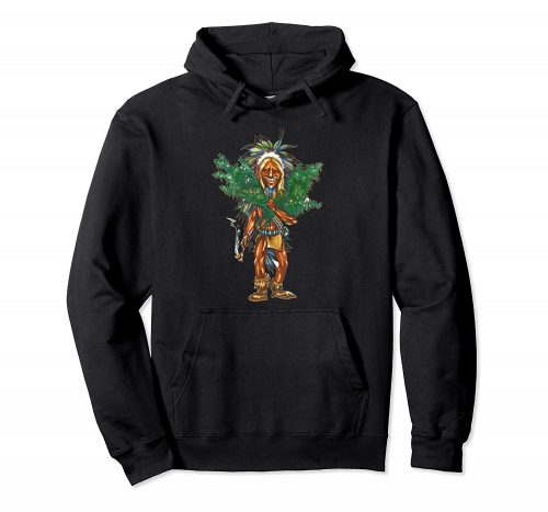An image of a black cannabis grower hoodie from Ganja Outpost.