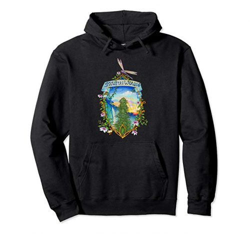 Image of a black colored Maui Wowie Vintage Marijuana Pullover Hoodie from Ganja Outpost