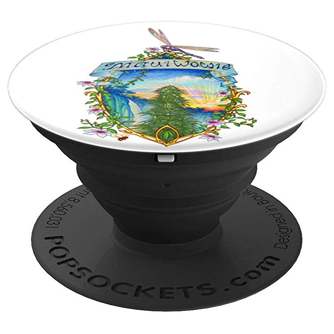 Vintage Maui Wowie Popsocket expanded view