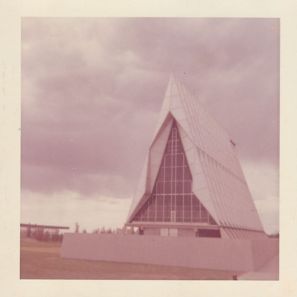 An image of the Air Force Academy in the late 1960's.