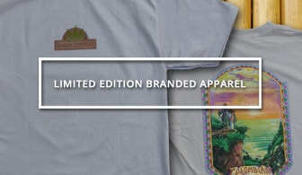 AN image of a button that leads to the Limited Edition Branded APparel from Ganja Outpost.