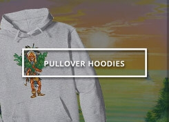 An image of the button for the Hoodies available at Ganja Outpost